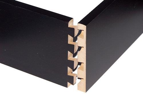 black dove tailed drawers 500w compressed